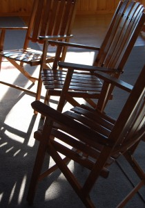 Chairs at Retreat